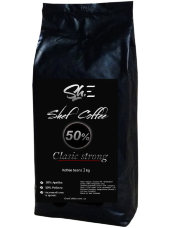 Кофе в зёрнах ShefCoffee Clasic Strong 50% арабики